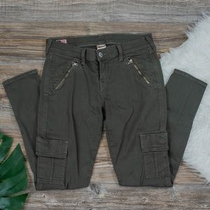 True Religion olive green jeans
